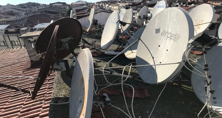 Deliklikaya çanak anten uydu servisi