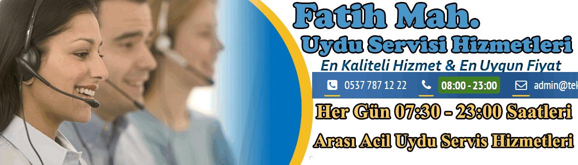 Fatih uydu servisi